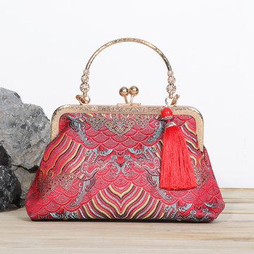 National Tassel Handbags Chinese Style Chain Bags