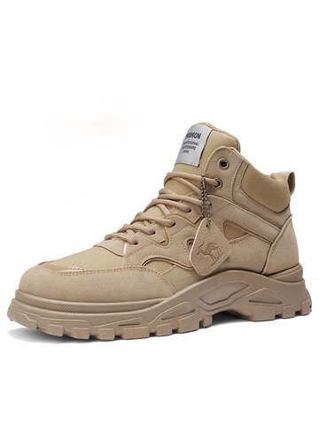 Men Sport Comfy Wearable Tooling Boots