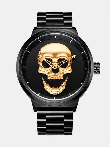 Mode Skull Hommes Watch