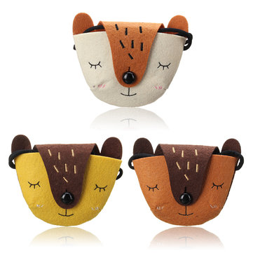 Small Children Kids Shoulder Handbag Satchel Cute Fox Gift Casual Coin Purse Tote