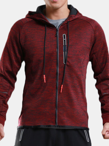 Mens Sport Zip Up Hoodies