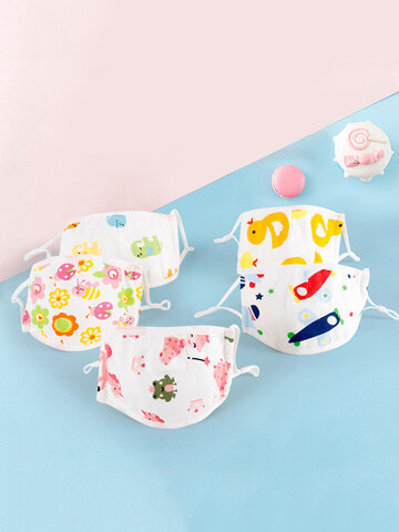 Five-layer Adjustable Children's Mask Cotton Gauze Dust Mask