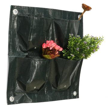 4 Pockets Garden Flowers Plants Pot