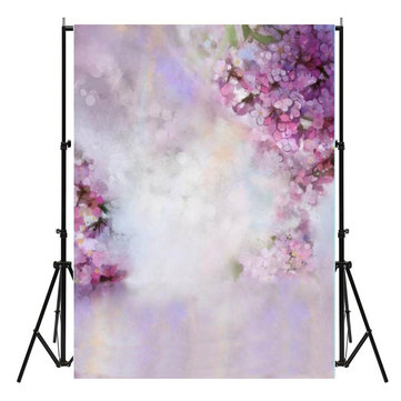5x7ft Flores Dreamlike Bebé Fotografia Fundos Vinil Foto Shoot Backdrops