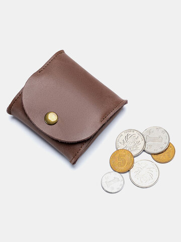 Cow Leather Coin Purse