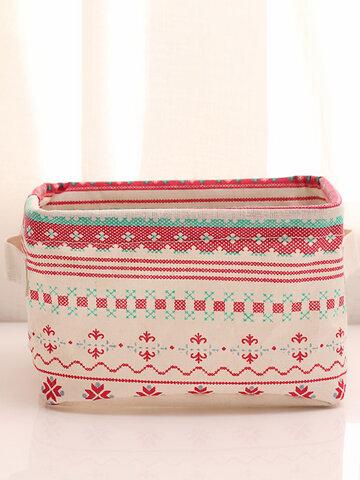 Cloth Storage Basket Foldable Must-have Makeup Box Organizer Storagebag