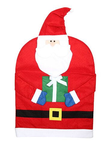 Christmas Santa Claus Chair Covers Dinner Chair Decorations Christmas Gifts for Home