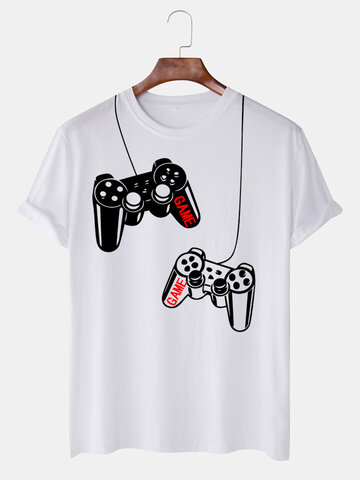 Game Handle Fun Style Breathable T-shirt