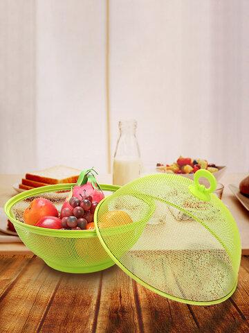 Panier de stockage des fruits en forme de pomme en maille effet empêcher les insectes et les mouches