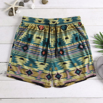 Ethnic Style Hawaii Beach Shorts