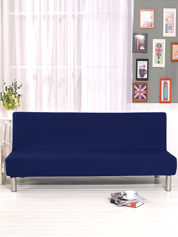 Soft Stretchy Fitted Removable Full Cover Without Armrest Folding Sofa Bed Universal Cover Sofa Cushion