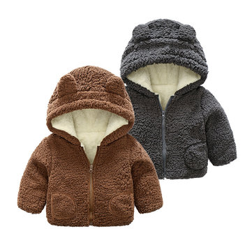 Warmer dicker Fleece-Mantel für 0-36M