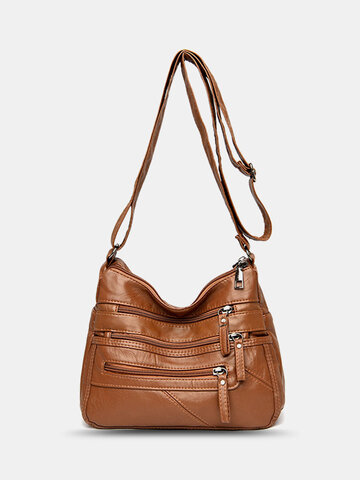 Vintage Anti-theft Shoulder Bag
