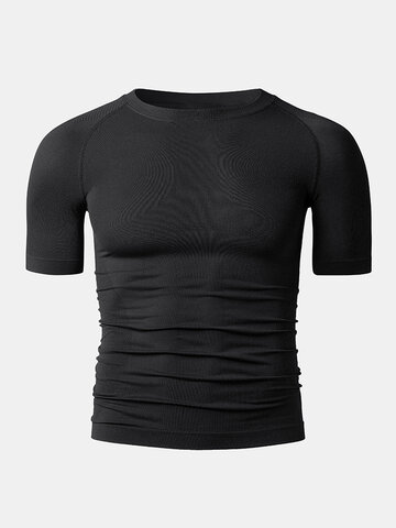 Knit Compression Base Track Tops