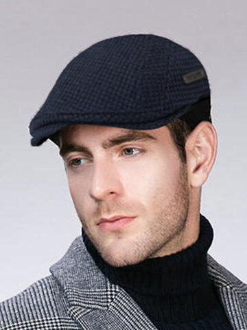 Men Casual Gatsby Flat Cap Adjustable Beret