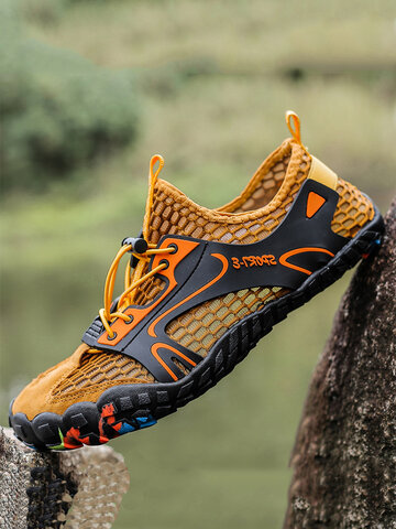 Men Outdoor Hiking Water Wading Shoes