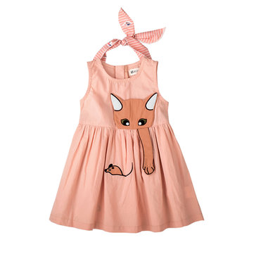 Vestido de princesa Animal Girls para 1Y-5Y