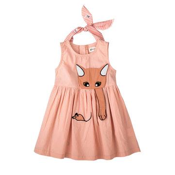 Vestito da principessa delle ragazze animali per 1Y-5Y