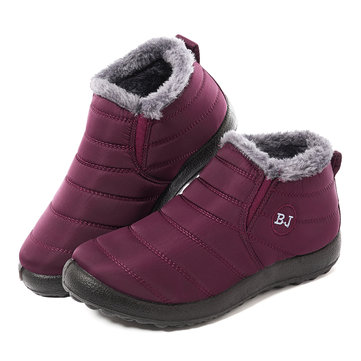LOSTISY Warm Snow Casual Damen Stiefel