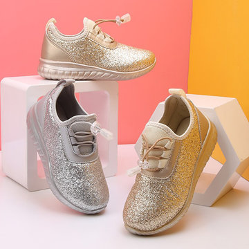Girls Bling Vamp Comfy Casual Shoes