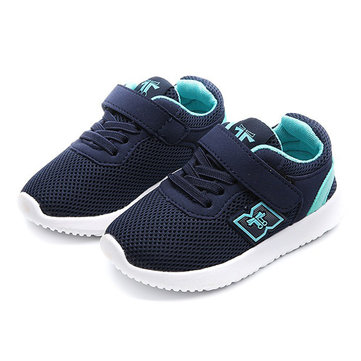 Boys Girls Mesh Hook Loop Casual Shoes