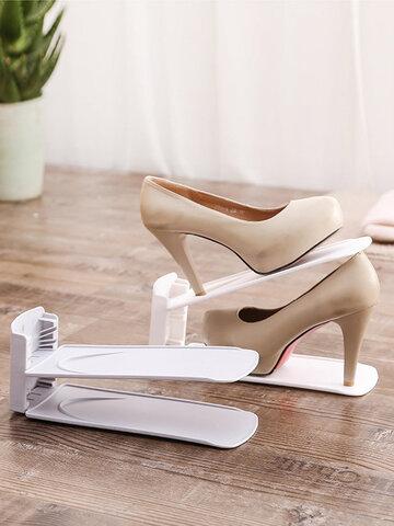 قوس حذاء بسيط قابل للتعديل مزدوج الطبقة