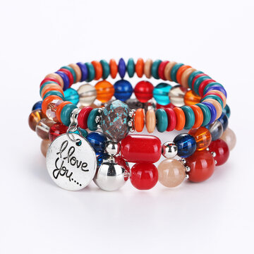 Bohemian Colorful Women's Bracelet
