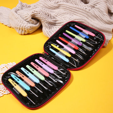 16Pcs Set Multi-color Crochet Hooks Kit