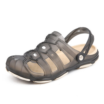 Men Breathable Slip Resistant Two Way Wearing Beach Sandals