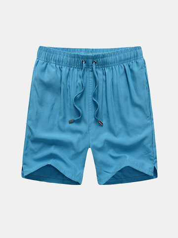 Casual Swimming Surfing Pocket Quick Drying Breathable Beach Shorts for Men