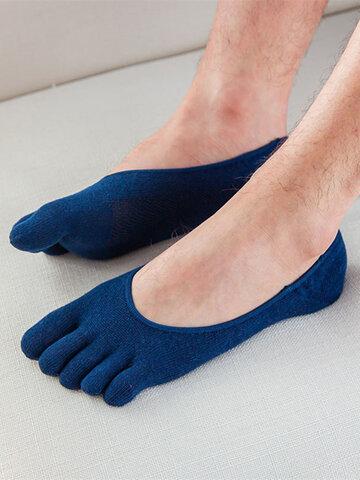 Chaussettes respirantes en maille de coton pour hommes