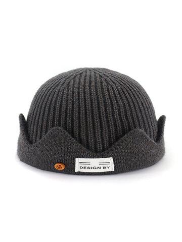 Men & Women Windproof Kint Fashion Crimped Skull Cap