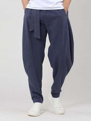 100% Cotton Soild Harem Pants