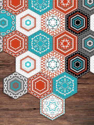 10Pcs Self Adhesive Tiles Stickers