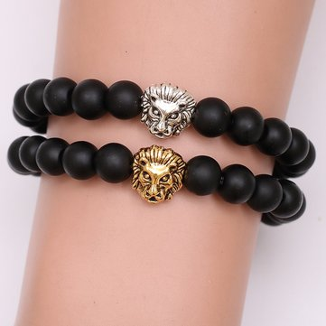 Ethnic Lion Heart Bracelet