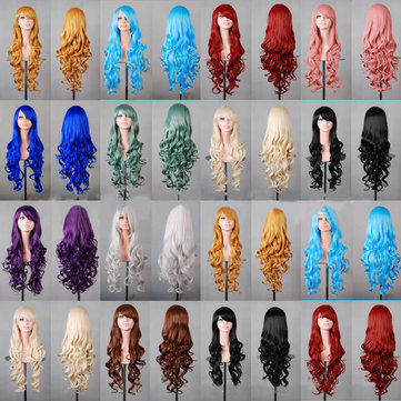Slanted Bangs Long Curly Hair, Black cm yellow cm wine red cm red cm fluorescent blue cm water blue cm mint green cm smoke pink cm brown cm royal blue cm silver white cm rose red cm purple cm light gold cm