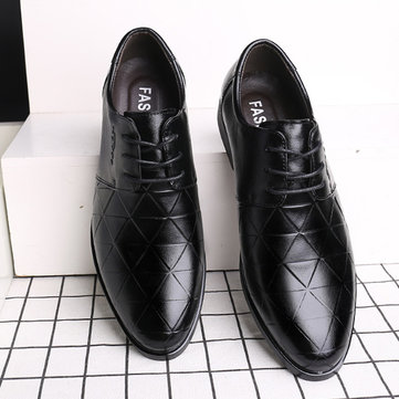 Men Genuine Leather Business Formal Shoes
