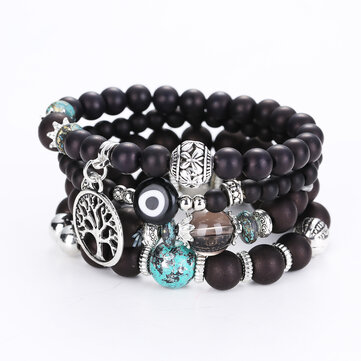 Pulseiras Bohemian Multileayer Beaded