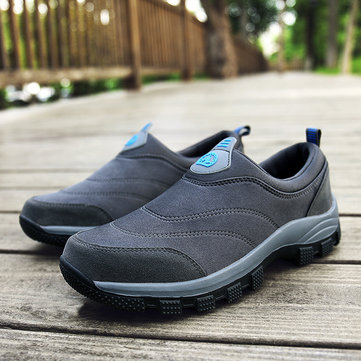 Men Suede Non-slip Casual Hiking Sneakers