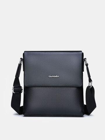 Genuine Leather Anti-theft Business Crossbody Bag Shoulder Bag