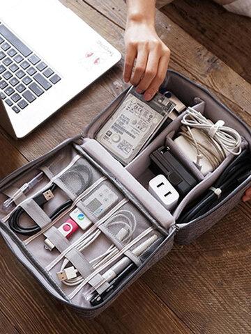 حقيبة تخزين كابل البيانات