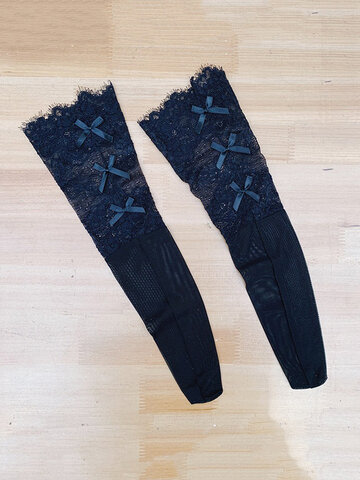 Summer Thin Lace Middle Tube Socks