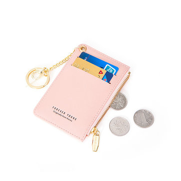 Women PU Leather Card Holder Small Coin Bag