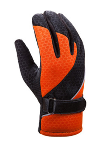 Touch Screen Cycling Patchwork Gloves