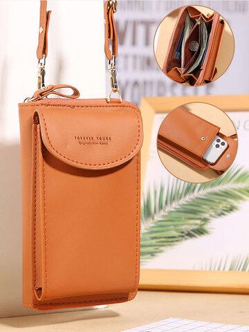 Multi-Pockets Long Phone Bag