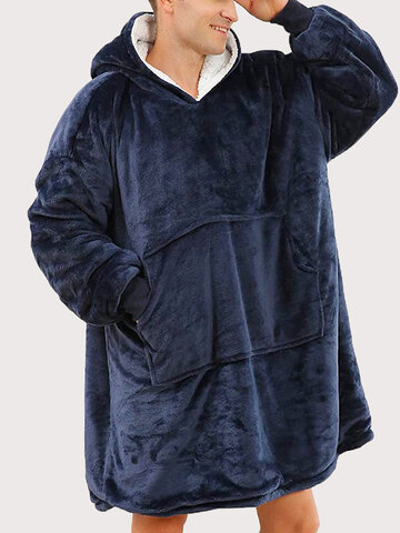 Thickein Heated Oversized Blanket Hoodies