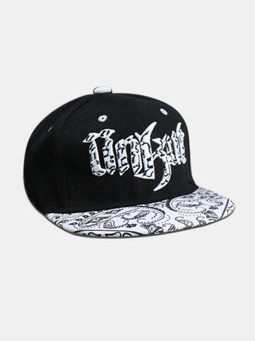 Hip Hop Hat Flat Brim Hat Baseball Caps