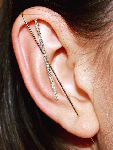Zircon Women Ear Clip