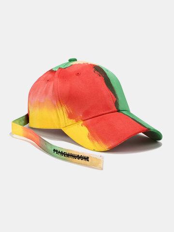 Unisex Tie-dye Sunshade Baseball Hat