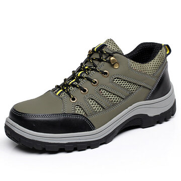 Men Outdoor Safty Work Shoes фото